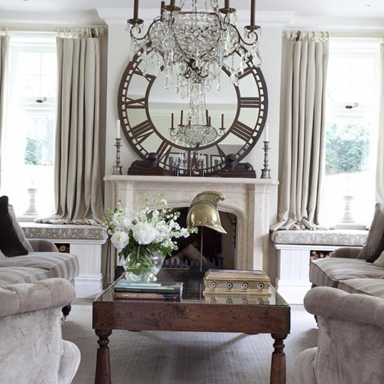 French Style Living Room Decorating