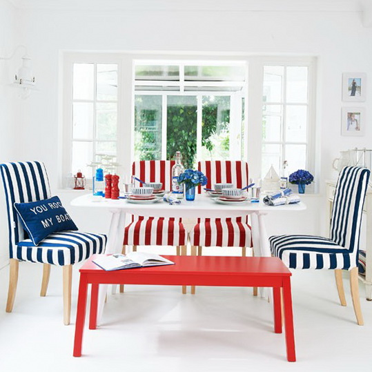 Marvellous Nautical Themed Living Room