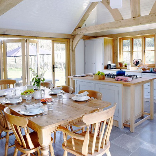 Summer decorating ideas for country kitchens ideas for for Country kitchen dining room ideas