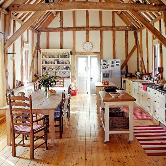 Eclectic Home Decor Ideas: Summer Decorating Ideas For Country Kitchens