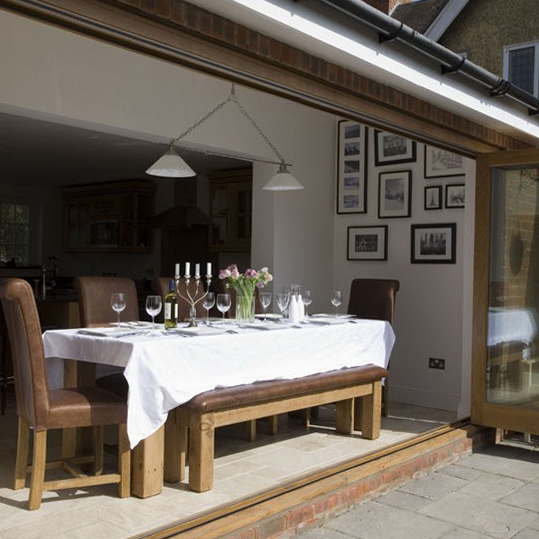 Conservatory dining ideas ideas for home garden bedroom for Dining room extension ideas