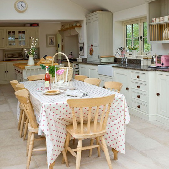Country Home Design Ideas: Summer Decorating Ideas For Country Kitchens