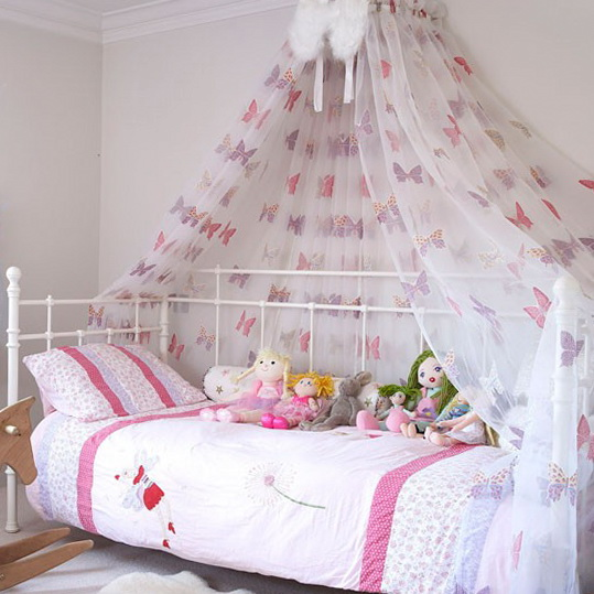 Ideas for country kids bedrooms ideas for home garden for Fabrics for children s rooms