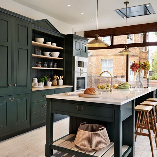 Houzz Fall Kitchen Trends 2013: Decorating Ideas – Painted Kitchens
