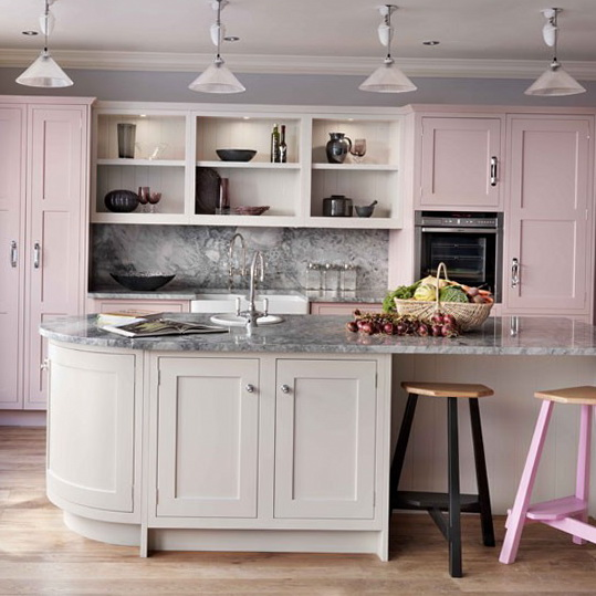 Kitchen Design Ideas For Small Kitchens November 2012: Decorating Ideas – Painted Kitchens