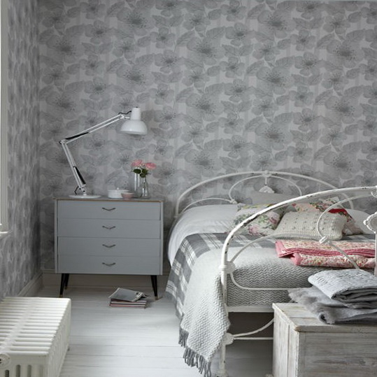 Wallpapers for bedroom best ideas ideas for home for Gray wallpaper bedroom