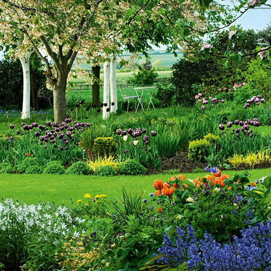 Landscaping country garden ideas for Country garden ideas for small gardens