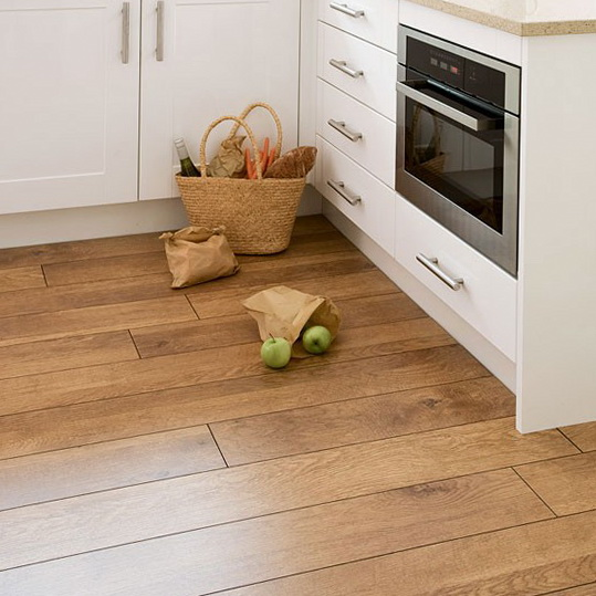 Kitchen flooring options casual cottage for Cheap kitchen flooring ideas