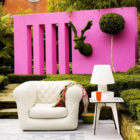 Ideas For Home Garden Bedroom Kitchen: Bright Ideas For Garden – Acid Colours