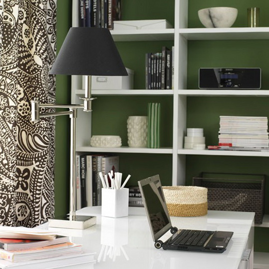 Home office decorating ideas ideas for home garden for Functional home office