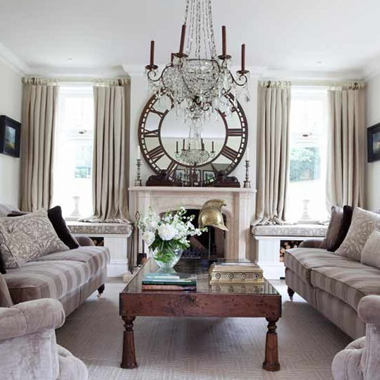 Delightful Decorating Living Room With Chandeliers. Image Credit: Homeideasmag. 6.