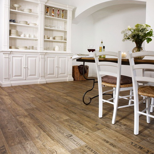 Flooring kitchen vinyl perfect laminate wooden this for Kitchen flooring ideas
