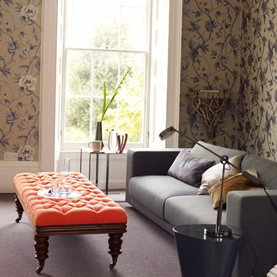 Wallpaper Living Room Ideas