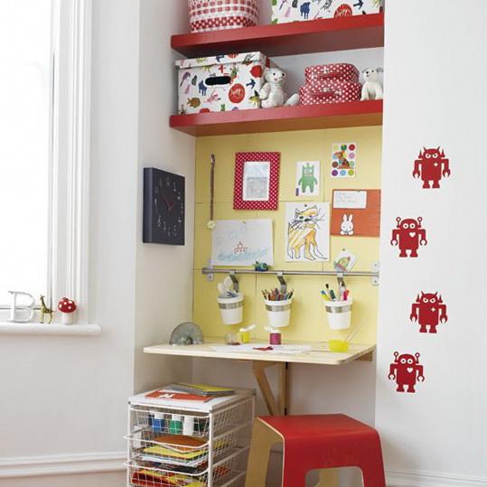 Kids corner  sc 1 st  HomeIdeasMag.com & Alcove Storage Ideas | Ideas for Home Garden Bedroom Kitchen ...
