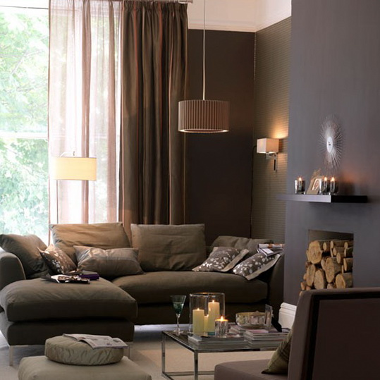 Rich living room colors modern house for Rich colors for living room