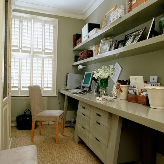 Home Office Decorating Ideas  Ideas for Home Garden