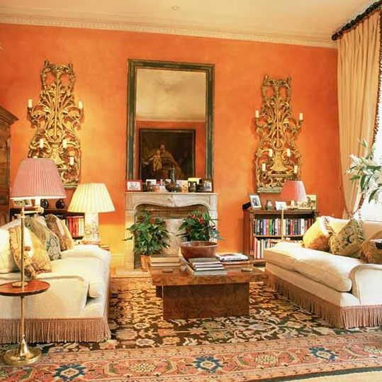 Ideas for formal living rooms ideas for home garden for Bold living room ideas