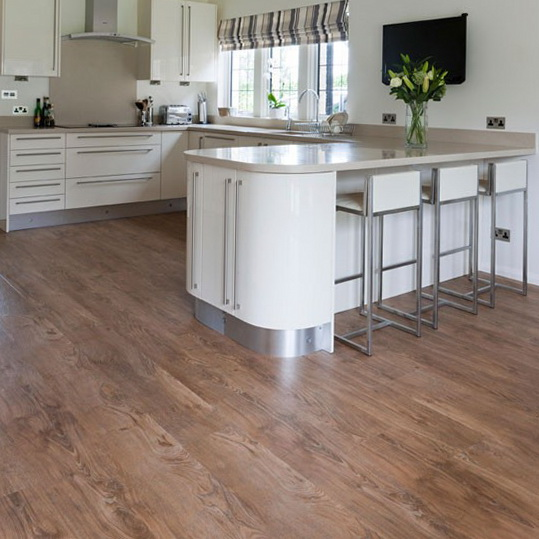Ideas for wooden kitchen flooring ideas for home garden for Kitchen vinyl flooring