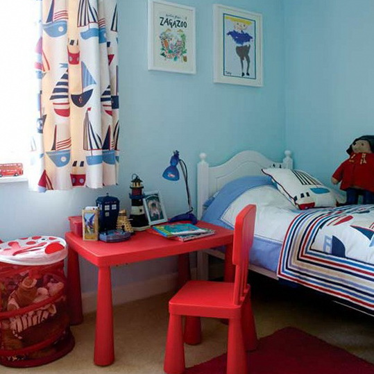 Nautical Themed Kids Room : boy s nautical bedroom nautical is a popular theme for young boys but ...