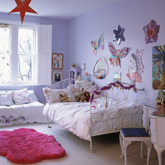 Fun Girl Room: Classic Girl's Rooms Decorating Ideas