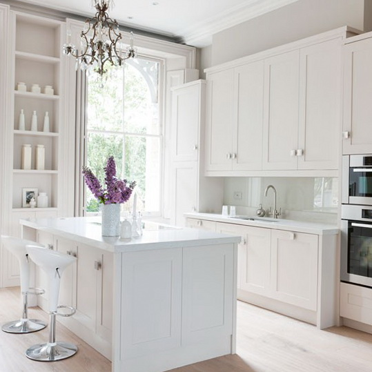 Small White Kitchens. Go Small White Kitchens - Mathszone.co
