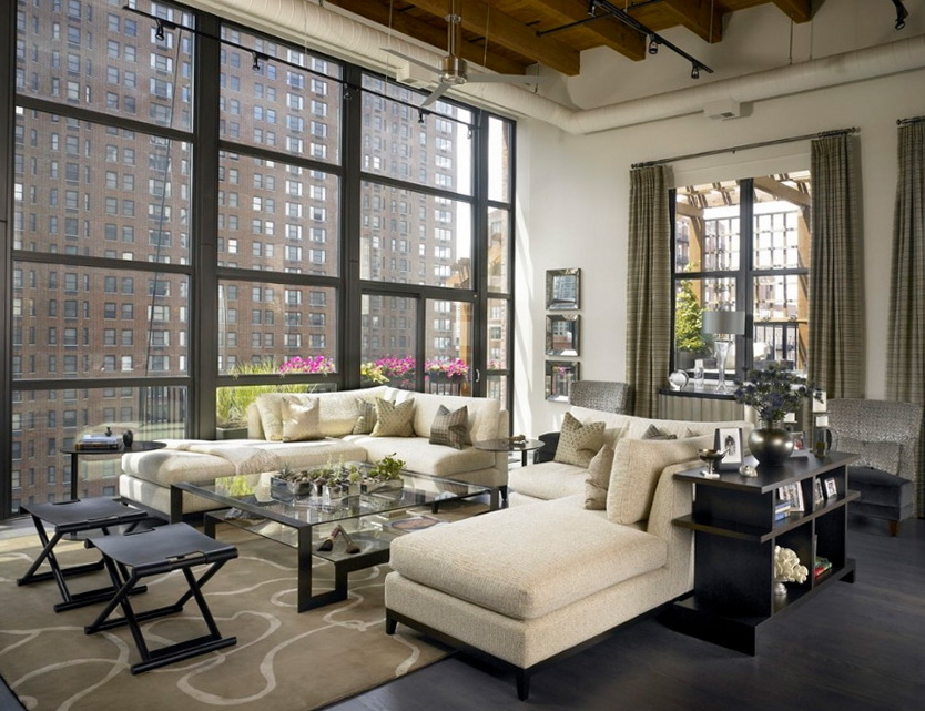 sexy urban loft with chicago views ideas for home garden