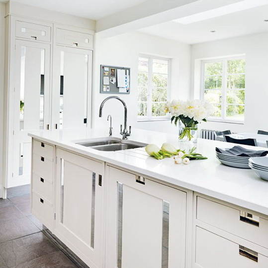 White kitchens fresh ideas ideas for home garden for Small white kitchen ideas