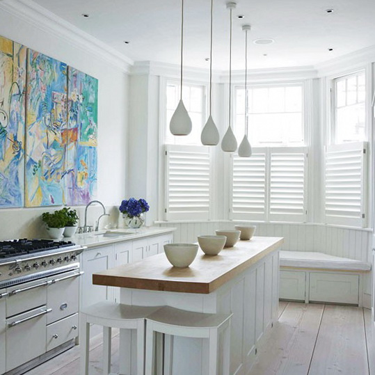 White kitchens fresh ideas ideas for home garden for Small kitchens with white cabinets