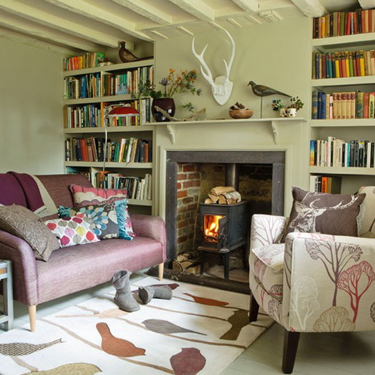 Country Living Room Decorating: Country Living Decorating Ideas