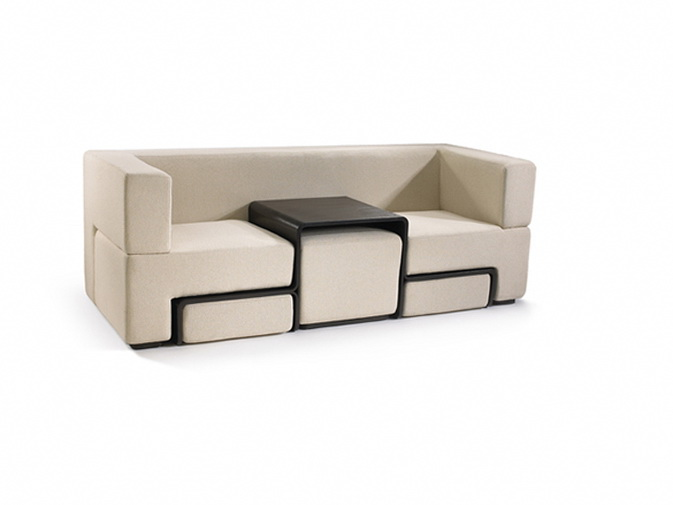 modular slot sofa good idea for small spaces ideas for space saving decorating functional furniture for small spaces
