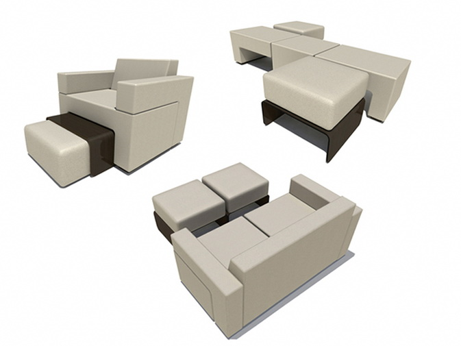 Modular Slot Sofa Good Idea For Small Spaces Ideas
