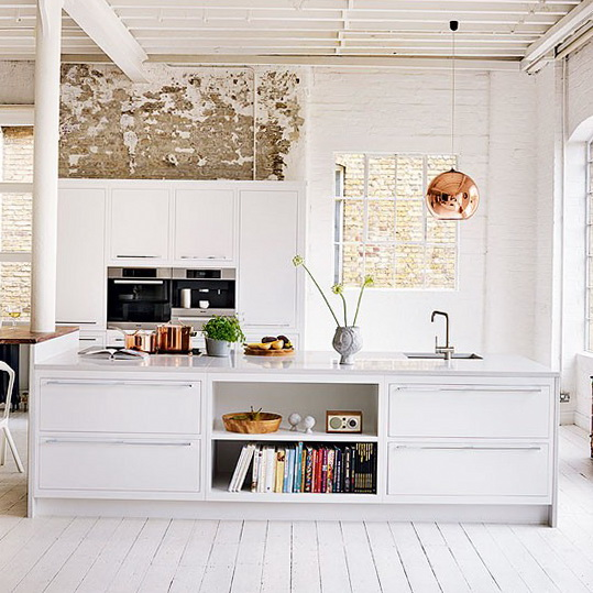 Shabby Chic Kitchens: White Kitchens – Fresh Ideas