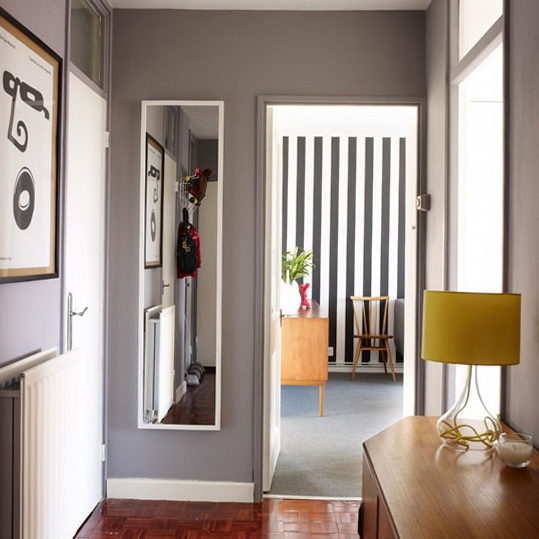 Ideas for a narrow wall bill house plans for Pictures for hallway walls