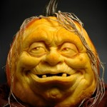 Funky Pumpkin Carvings by Ray Villafane