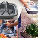 Hughie Removable Kitchen Sink Made from Biodegradable Plastic