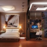Modern and Practical Bedroom