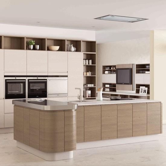 Contemporary Modern Kitchen Semi Detached Design Ideas: Ideas For Home Garden Bedroom Kitchen