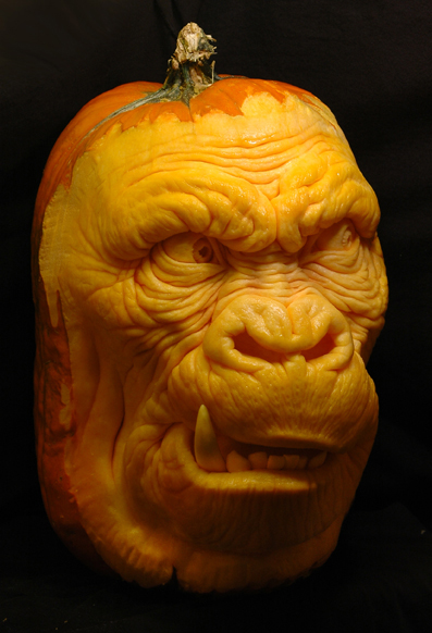Funky Pumpkin Carvings By Ray Villafane Ideas For Home