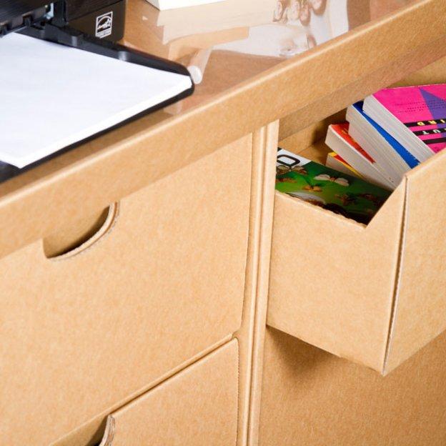 SmartDeco's Cardboard furniture