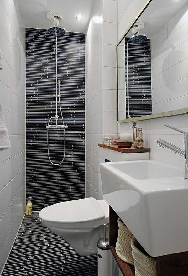 Small and functional bathroom design ideas ideas for for Small bathroom designs 2012
