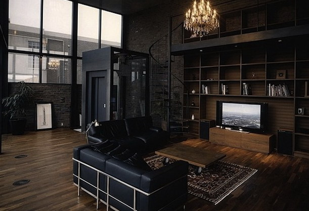 Hauntingly Dark Interiors Inspired By Halloween Ideas