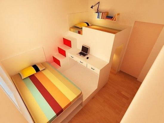 Идеи для маленьких квартир своими руками 49