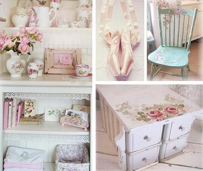 Finds home in the style of Shabby Chic | Ideas for Home Garden Bedroom ...