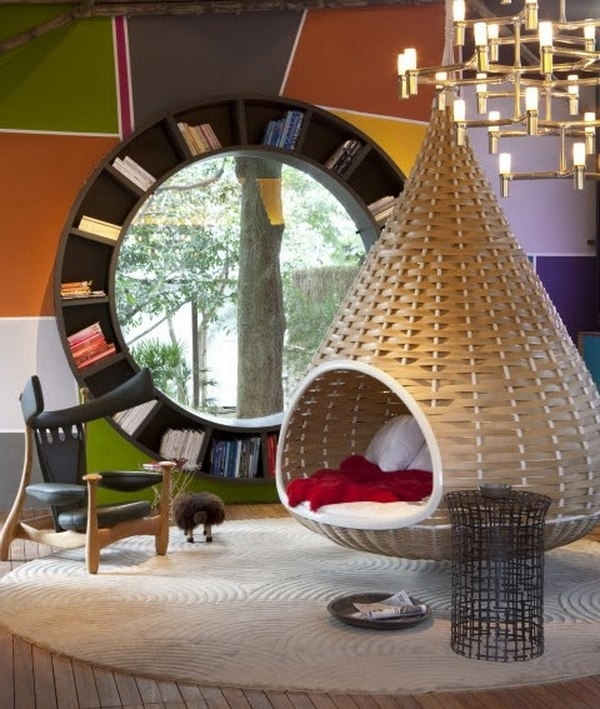 Hanging Chairs | Ideas for Home Garden Bedroom Kitchen - HomeIdeasMag.