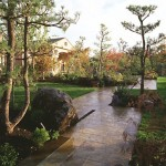 The Japanese garden in the Mediterranean