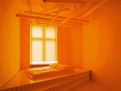 Orange In The Interior Ideas For Home Garden Bedroom