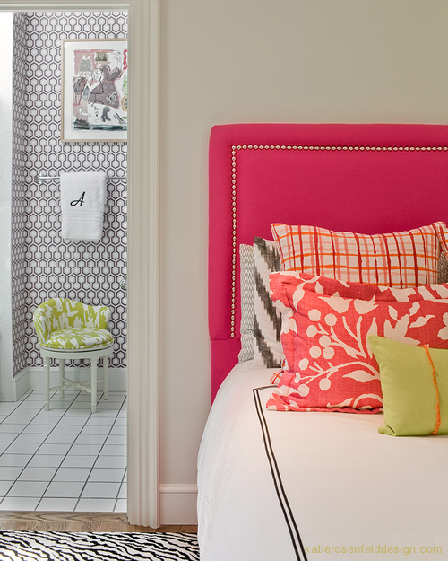 Fun And Bright Living Room Color Ideas Wrapping Comfort: Beautiful Interiors Of Katie Rosenfeld