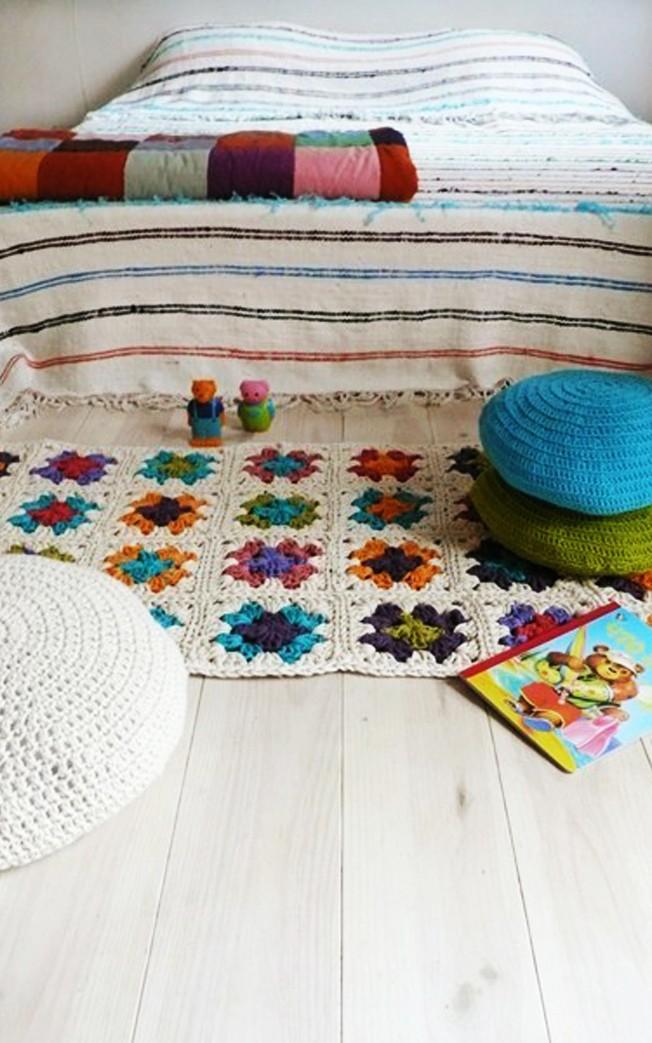 The Crochet Rug Makes Ideas For Home Garden Bedroom