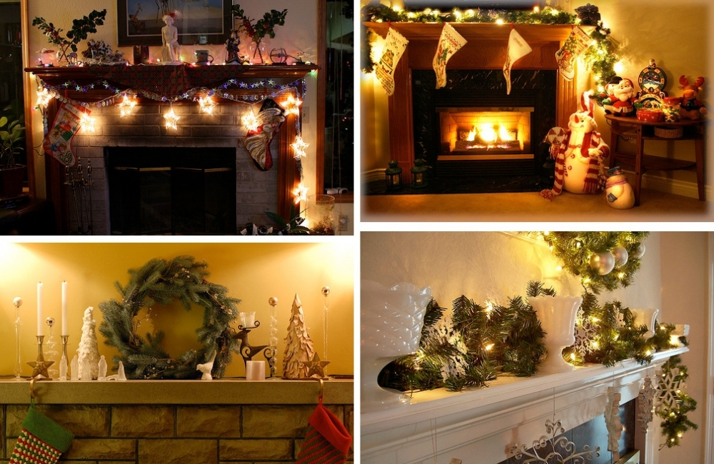 related posts - Fireplace Christmas Decorations