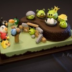 Home accessories with symbols Angry Birds